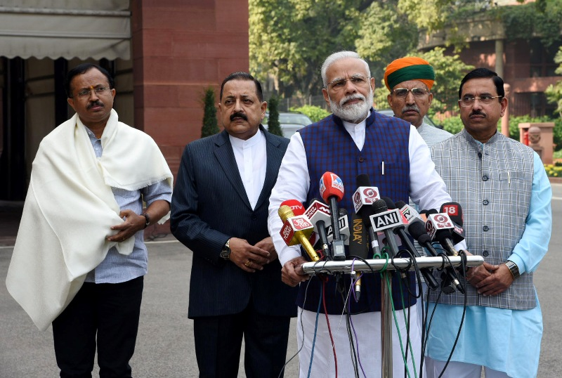 India in Politics : Nov 18 , 2019
