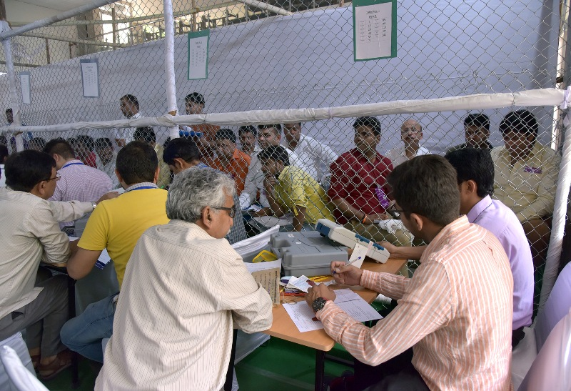 Lok Sabha Elections: Counting of votes progress in India on May 23