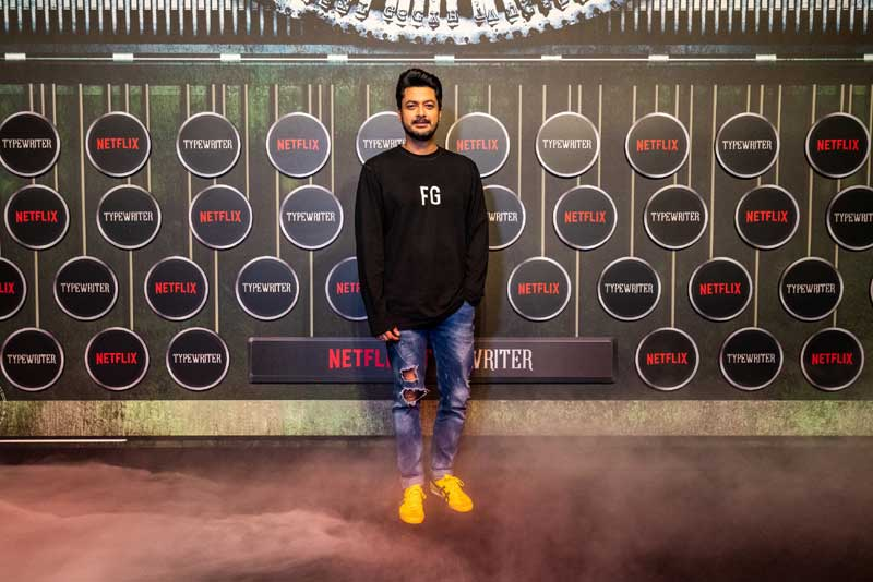 Celebrities along with cast and crew of Netflix original Typewriter attend special screening