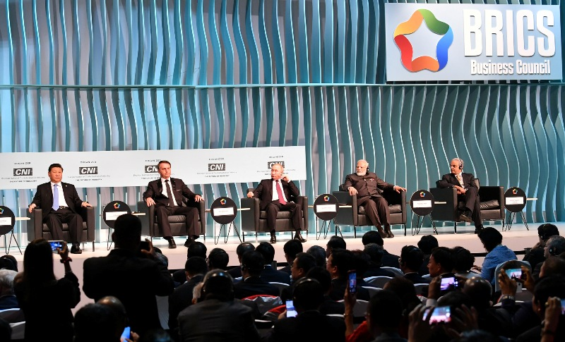PM Modi addresses BRICS Business Forum in Brazil