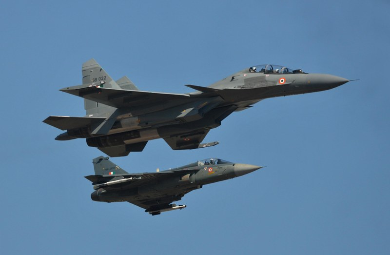 Rafale fighter jet during full dress rehearsal ahead of 12th Edition of Aero India '19