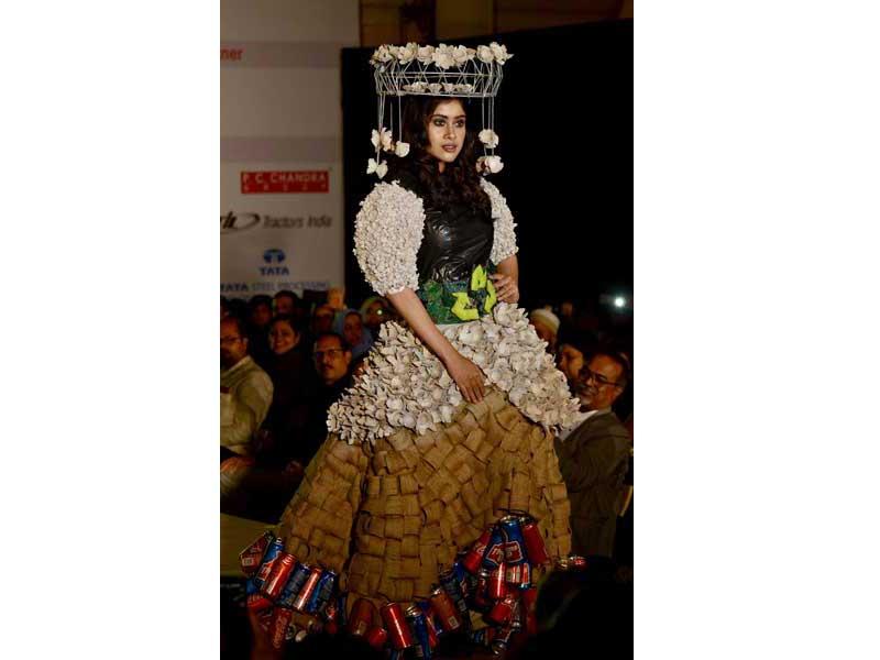 Kaleidoscope 2019: Graduating fashion show on sustainable fabric