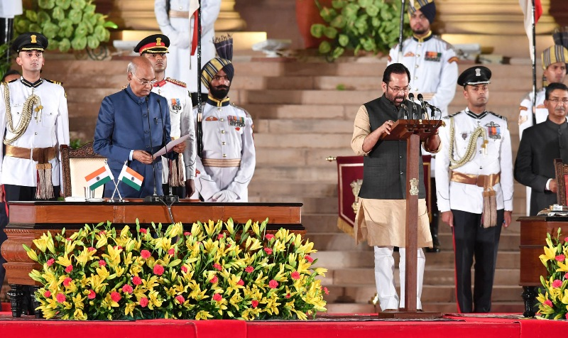 Narendra Modi takes oath as the Prime Minister for second term