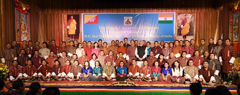 PM Modi visits Bhutan