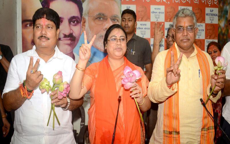 Bengal BJP celebrates historic win in Lok Sabha elections