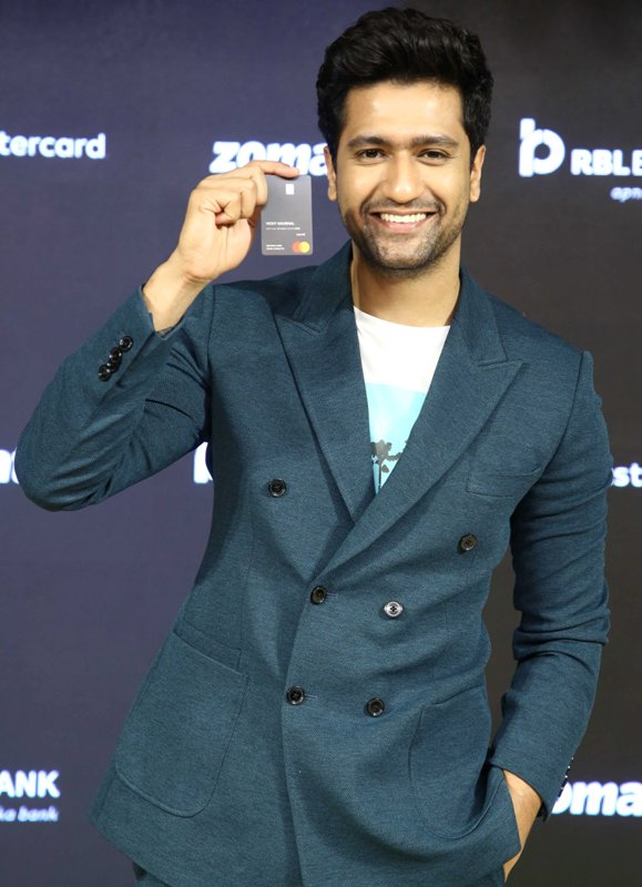 Vicky Kaushal at a launching event in Delhi