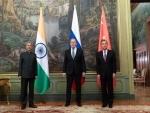 S Jaishankar meets Sergei Lavrov, Wang Yi in Moscow