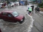 Heavy monsoon rain in Patna
