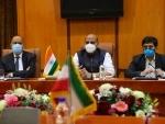 Rajnath Singh visits Tehran