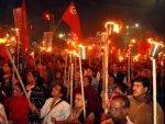 Trade unions take out torch rally against CAA-NRC-NPR in Kolkata