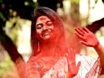 Kolkata celebrates Holi, the festival of colours