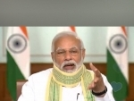 PM Modi interacts with Sarpanchs