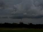 Dark clouds over West Bengal capital Kolkata ahead of Cyclone Amphan