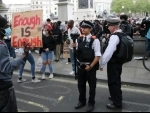 Protesters, police face off in London during march against George Floyd killing