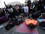 Protests take place against George Floyd killing in Belgium, Denmark, England