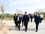 Xi Jinping learns about efforts to advance poverty alleviation in China's Wuzhong City