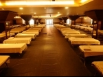 Banquet hall converted into isolation ward for COVID-19 patients in Delhi