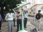 People in Kolkata assemble in BITM to watch solar eclipse