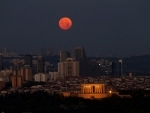 Full moon in Ankara