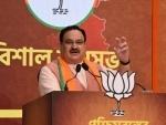 BJP National President J P Nadda addressing virtual rally on Dr. Syama Prasad Mookerjee's birth anniversary