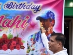 Celebration of MS Dhoni's 39th birthday in Ranchi
