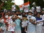 Congress protests in Thiruvananthapuram