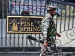 "Sleuths of National Investigation Agency raided hotel "" Pine Spring"""