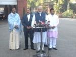 PM Modi addresses media ahead of Parliament's budget session