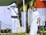 Mamata Banerjee unfurls Tri Colour on Independence Day