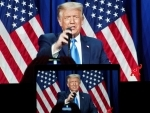 US President Donald Trump at 2020 Republican National Convention in Charlotte