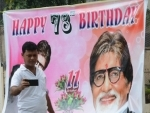 Fans celebrate birthday of Amitabh Bachchan