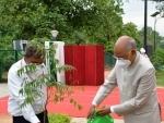 President Ram Nath Kovind celebrates Van Mahotsav