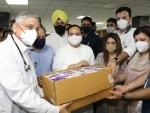 JP Nadda inaugurates blood donation camp at AIIMS