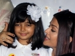 File photos of Aishwarya Rai and daughter Aradhya