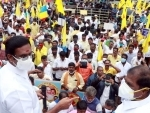 Activists of PMK stage demonstration, demanding reservation for Vanniyar Community in govet jobs in Chennai