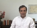 Rahul Gandhi holds video conference over Covid-19