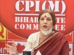 CPI-M's Brinda Karat holds press conference