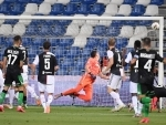 Serie A football match between Sassuolo and Juventus
