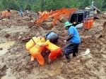 NDRF personnel continue rescue ops at Munnar's landslide site in Kerala