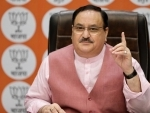 JP Nadda interacts with Assam BJP leaders