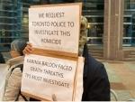 Protesters demand fair probe into Karima Baloch's death in Toronto
