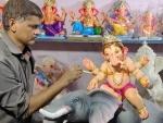 Ganesha idols receiving final touches ahead of Ganesha festival