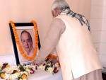 Nitish Kumar pays tribute to late Arun Jaitley on 68th birth anniversary