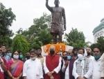 Yashwant Sinha begins Jan Sanvad Rally