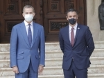 Spanish PM meets King Felipe VI