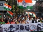 Congress' rally on foundation day