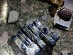 Arms and ammunition recovered in Kupwara