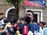 Shiv Sena MLA Pratap Sarnaik arrives at ED office in Mumbai in connection with money laundering case