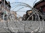"Kashmir: Security personnel close road leading to ""Mazaar-e-Shoudha"""