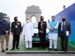 CDS Bipin Rawat attends flag off ceremony of MG ZS